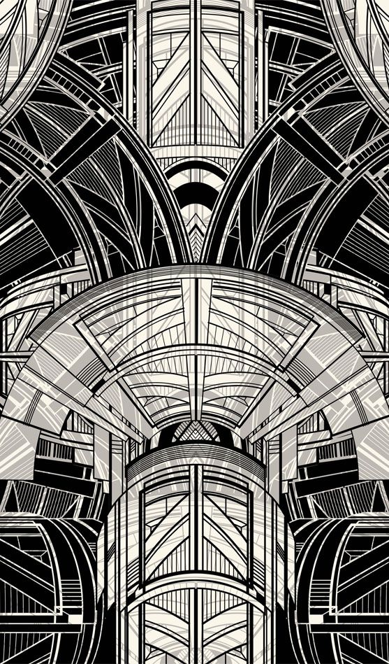 Best 25 art deco illustration ideas on pinterest art for Design art deco