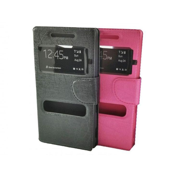 FUNDA Telefono Para SONY XPERIA Z3 Compact VENTANA Tapa Movil Flip Cover - http://complementoideal.com/producto/fundas/fundas-telefono-con-tapa/funda-tipo-libro-con-doble-ventana-para-sony-xperia-z3-compact/  - Con la Funda Tipo Libro Con Doble Ventana Para Sony Xperia Z3 Compacttendrás una protección total del tu teléfono móvil, ya que protege tanto delante como la parte de atrás de esta forma tendrás protección 100% del dispositivo. Diseñada exclusivamente para Sony