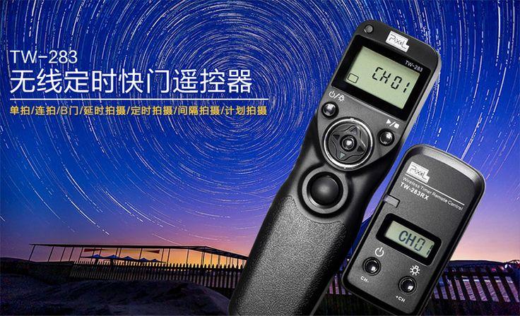 品色TW-283无线定时遥控快门线For佳能单反7D 5D3 5D2 6D 60D相机-tmall.com天猫