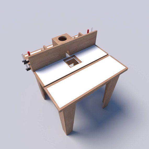 Router Tischpläne DIY Holzbearbeitungsmaschinen Holzschneider Bauen Sie Ihre eigenen