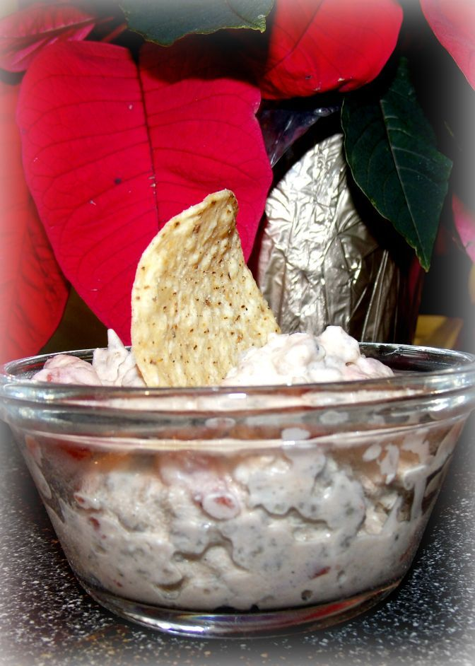 Rotel Sausage Dip | craftycreativekathy. The only change I would make is to clarify that I drain the tomatoes really well, and also drain all grease from the sausage. Best served with Tostitos or Fritos scoops.