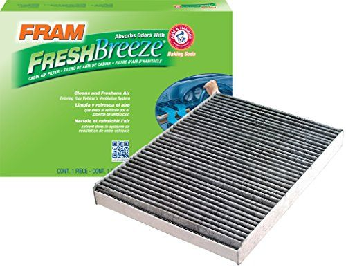 FRAM CF8644A Fresh Breeze Cabin Air Filter with Arm & Hammer. For product info go to:  https://www.caraccessoriesonlinemarket.com/fram-cf8644a-fresh-breeze-cabin-air-filter-with-arm-hammer/