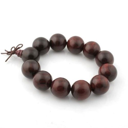 20mm Big Rosewood Beads Buddhist Prayer Wrist Mala Bracelet Wadoy. $4.59. Measurement: Beads are approx. 20mm diameter. Packaged in a jewelry pouch.. Use for counting mantras, prayers, mediations, etc. Material: Rosewood