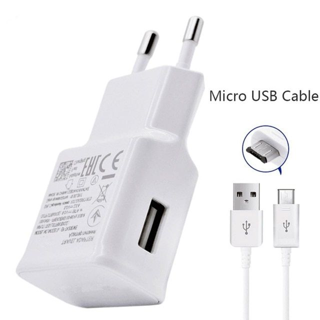 For Samsung Galaxy S3 S4 S6 S7 Edge Note 4 5 J2 J3 J5 J7 2016 2017 Charger Travel Adapter Eu Us 1m U Bluetooth Accessories Phone Charger Holder Micro Usb Cable