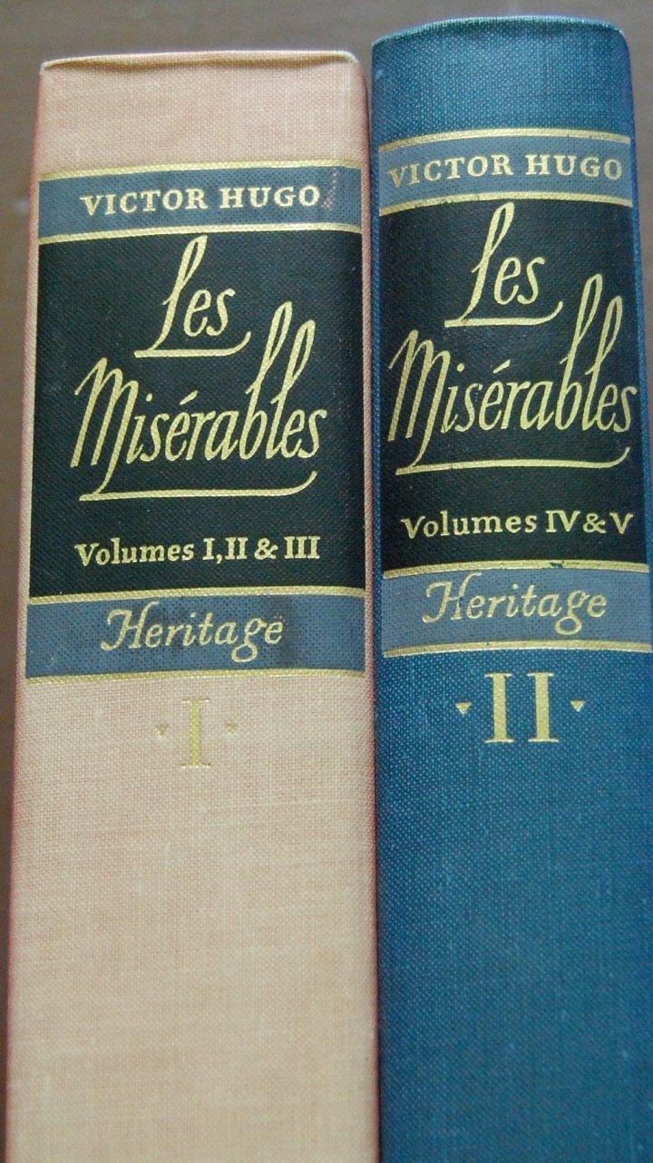 best ideas about les miserables script les heritage press les miserables by victor hugo 1938