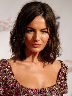 #camillabelle Long wavy bob - for more medium hairstyle inspiration, hair idea