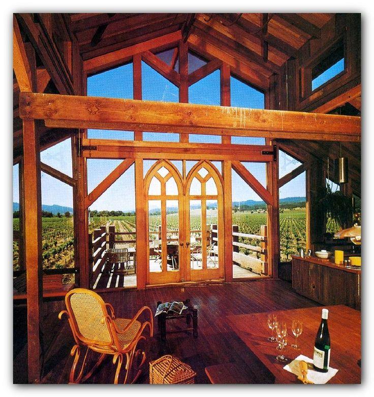 1982 VACATION HOMES PLAN & BUILD log cabin doors windows kits prefabs packages