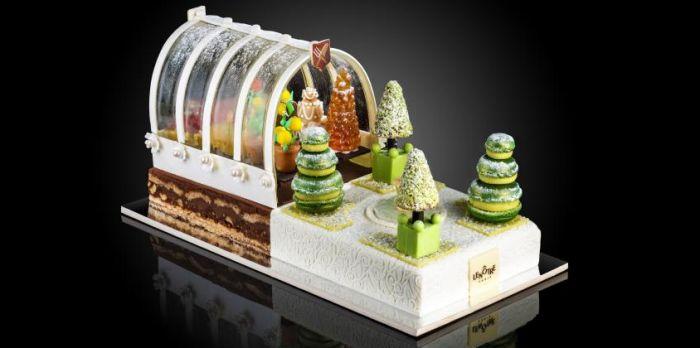 Рождественские десерты Франции. Бюш де Ноэль