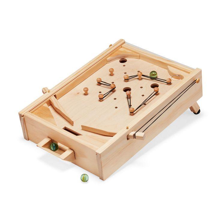 Diy Wooden Pinball Machine Kreatif Ide