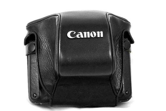 Canon Action Case A Original Vintage Leather Camera Case