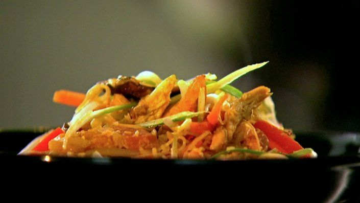 29 best chinese food made easy images on pinterest china food try this singapore style noodles recipe by chef ching he huang this recipe is from the show chinese food made easy forumfinder Image collections