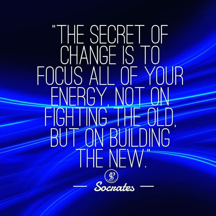 Focus Your Energy... On building the new. . Socrates really had something here! . As Entrepreneurs we are always learning new ways to market. It seems once we learn it... . it changes...haha . If you focus all your energy on building andlearning the new methods... . you Will continue to move forward. . . . #socrates