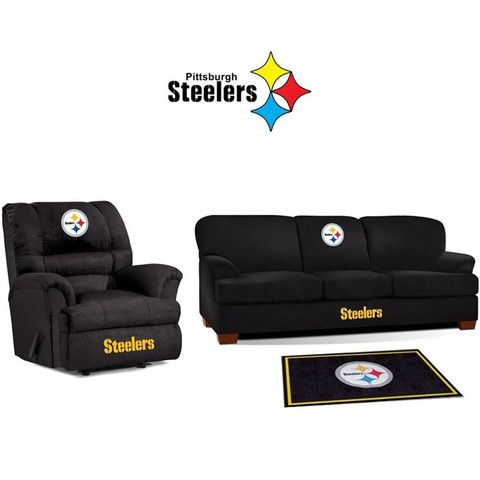 Lovely Use This Exclusive Coupon Code: PINFIVE To Receive An Additional 5% Off The Pittsburgh  Steelers Microfiber Furniture Set At SportsFansPlus.com | Pinterest ...