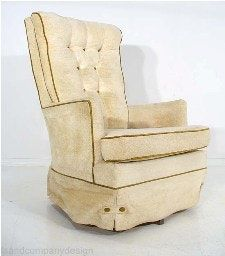 Convert Your Upholstered Chair Into A Glider — Honey and Fitz