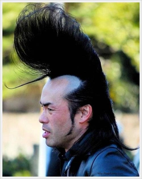 Yeah, totally, the pompadour draws the eye up and away from the receding hairline. You're definitely fooling everybody.