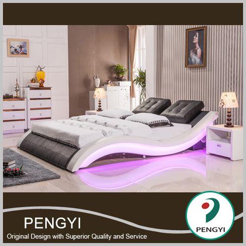 Modern Home Bedroom Furniture,Italian Leather Bed   Buy Leather Bed,Bed,Bedroom  Furniture Product On Alibaba.com