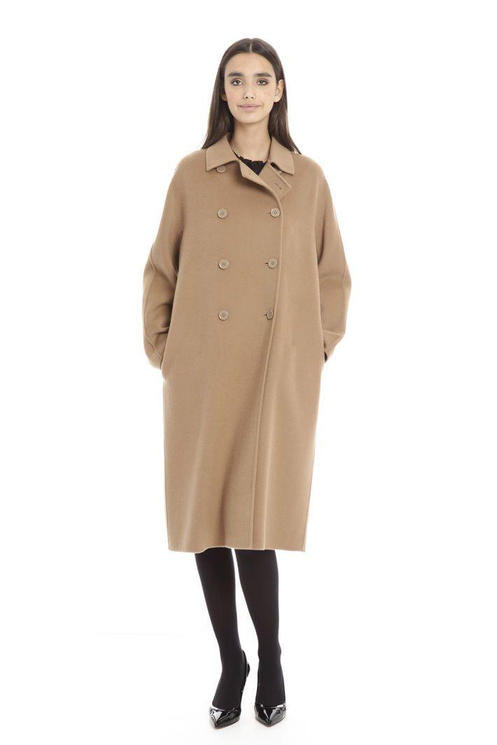 4626373b31a5d3 Cappotto in drap di lana, cammello - Diffusione Tessile | coat ...
