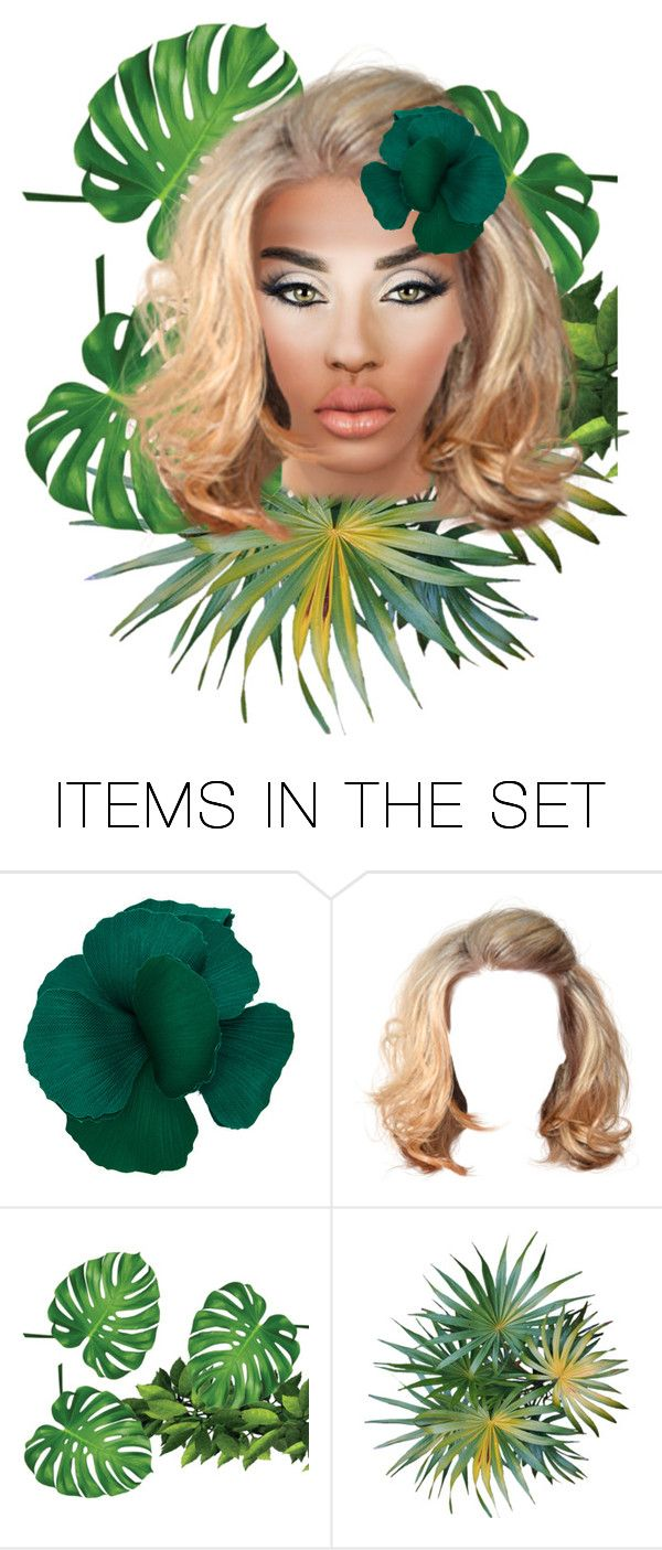 """""""Green Eyed Girl"""" by buddahbar ❤ liked on Polyvore featuring art"""