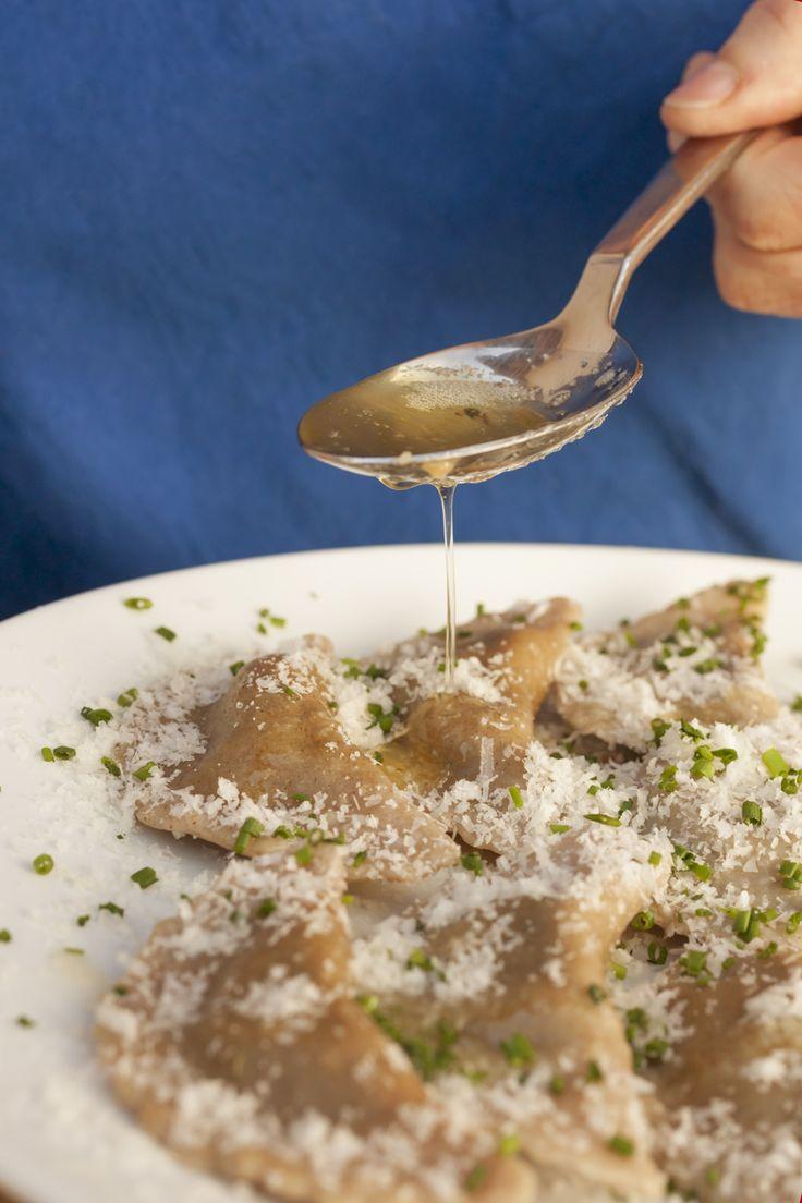 Südtiroler #Schlutzkrapfen Rezept Roter Hahn