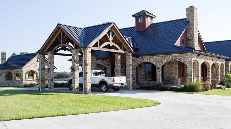 Best 25 ranch homes exterior ideas on pinterest curb for Ranch timber frame plans