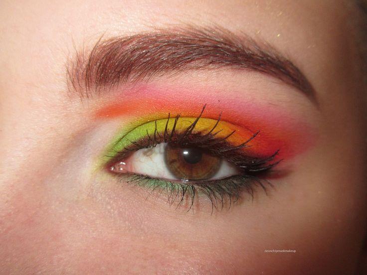 Bright Eyes w/ Sugarpill Pro Palette