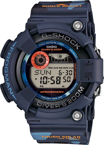 - Tough Solar Power - Shock Resistant - ISO 200M Water Resistant - Full Auto EL Backlight with Afterglow - World Time - 31 times zones (48 cities + UTC), city code display, daylight saving on/off - Mo