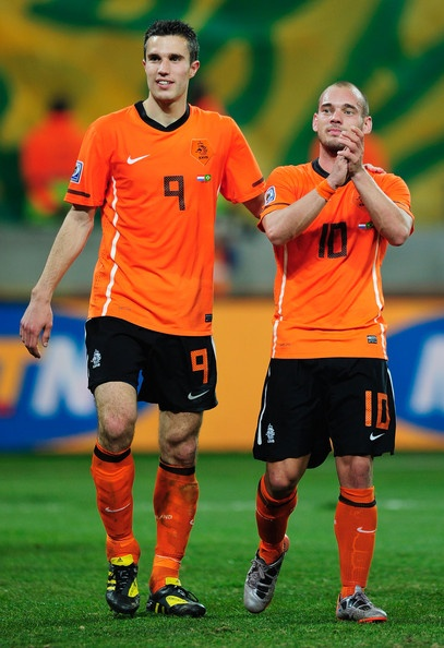 wesley sneijder and van persie