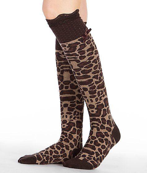 """""""Blazin Roxx Animal Print Socks"""" www.buckle.com"""