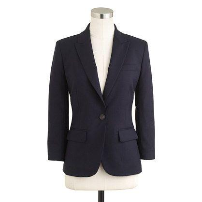 Petite Sidney jacket in Super 120s