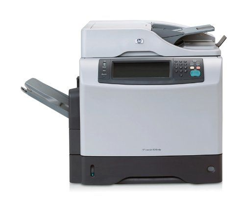 Hewlett-Packard CB425A#BCC Multifunction LaserJet Printer. Accepts Paper Size - 8 1/2 in x 13 in, Commercial, Envelope No. 10, Executive, Legal, Letter, Statement. Auto Document Feed/Sheets - 50. Auto Duplexing Functions - Scan. Catalog Publishing Type - Copier/Fax/Multifunction Machines-Multifunction. Connector/Port/Interface - USB.