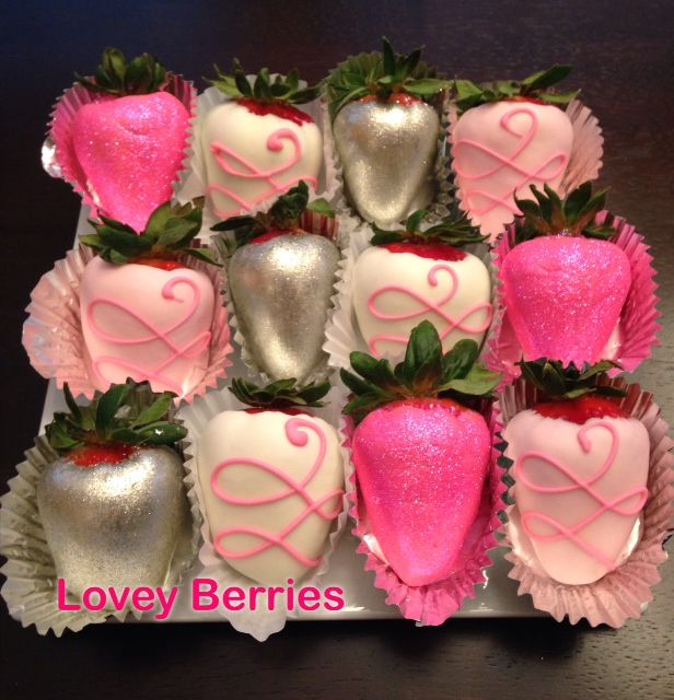 Gourmet Chocolate Covered Strawberries From Lovey Berries