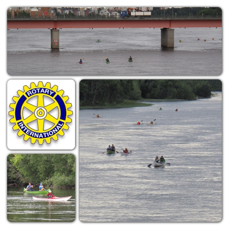 When summer was about to start in Umeå, we wanted to try a new approach to raise money to Jamiibora project. www.jamiibora.se . Umeå Rotary Västra did a modern kayak fundraising! Klabböle to Ön. 30 people partisipated and we now know it works and we hope to inspire more people next year. Sweden.