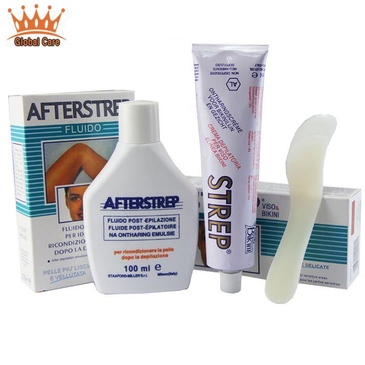 Genuine Italian STREP full body permanent depilate cream remove armpit lip legs hair removal depilation cream Free shipping