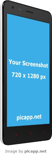 Put your cool app screenshot in this amazing device phone Xiaomi Redmi2  with just one click. Go to Picapp.net, choose what frame you like, upload your best screenshot and then download the final image. FREE DOWNLOAD. #XiaomiRedmi2 #nobackground #mockup #picapp