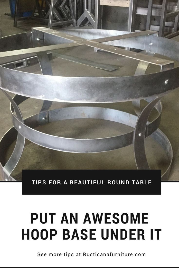 This Is A Unique Bolero Table Base It Will Look Great Under Any