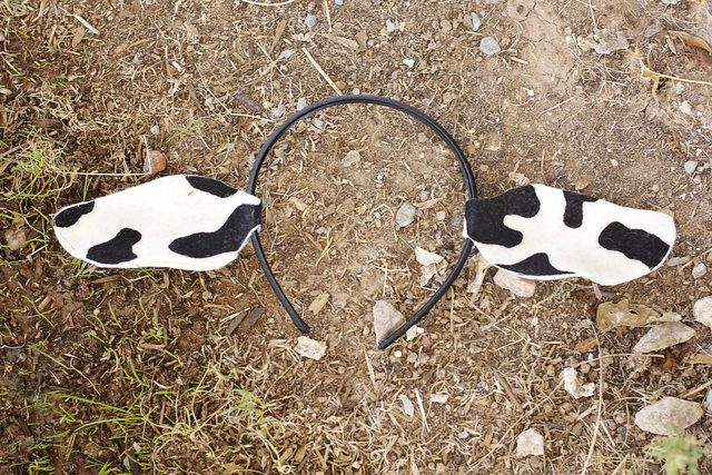 How to Make Cow Ears
