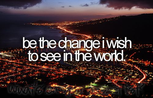 I wish this were on everyone's bucket list...