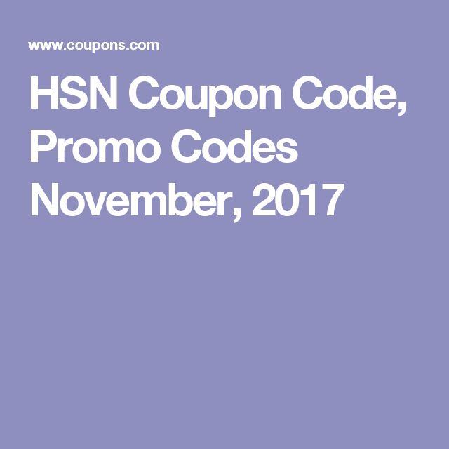 HSN Coupon Code, Promo Codes November, 2017