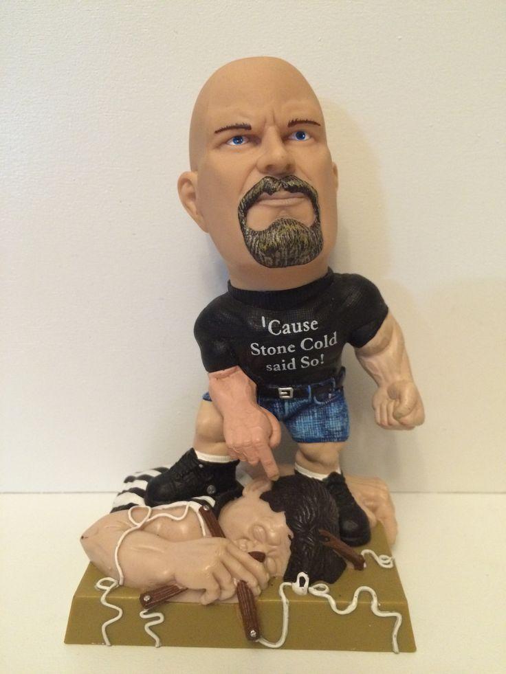 (TAS031132) - WWF WWE Wrestling Statue - Stone Cold Steve Austin