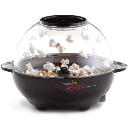 West Bend Stir Crazy Popcorn Popper, Multicolor