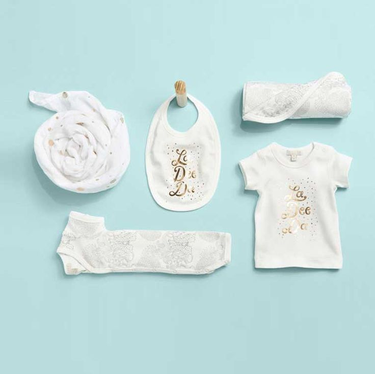 Beautiful gender neutral newborn baby clothes by Wilson & Frenchy
