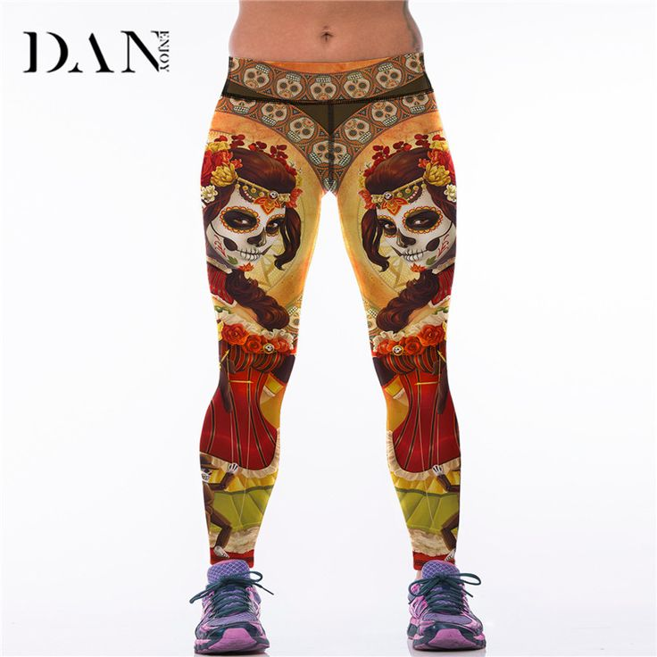Cheap yoga sport pants, Buy Quality legging women gym directly from China  yoga print Suppliers: DANENJOY Printed Yoga Sports Pants Fitness Leggings  Women ...