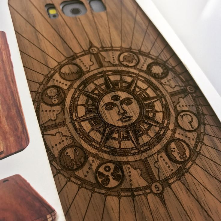 Custom cover of the day. Astrological calendar design on walnut Galaxy S8 cover. What's your sign? 🌞   #s8 #s8plus #galaxys8 #galaxys8plus #customcase #woodcase #madeinportland