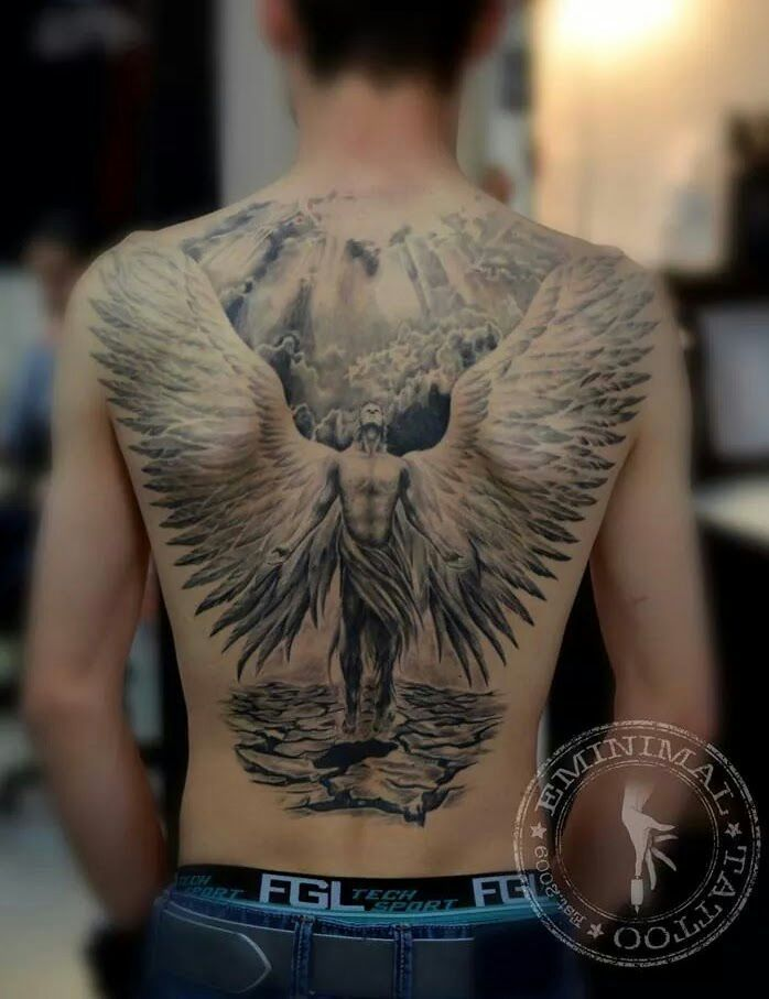 214 best angels wings tattoos images on pinterest angels tattoo tattoo ideas and tattoo art. Black Bedroom Furniture Sets. Home Design Ideas