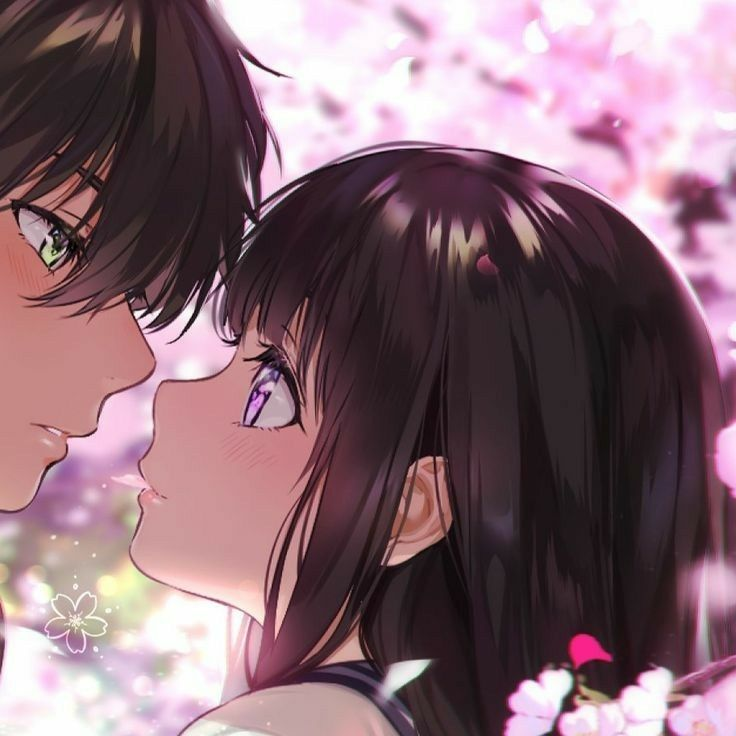 Anime Wallpaper For Couples Half