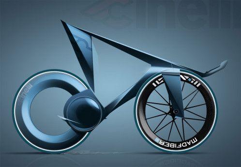 Cinelli Lazer Pista concept bike by Ilya Vostrikov