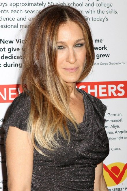 I want her ombre hair color; Sarah Jessica Parker