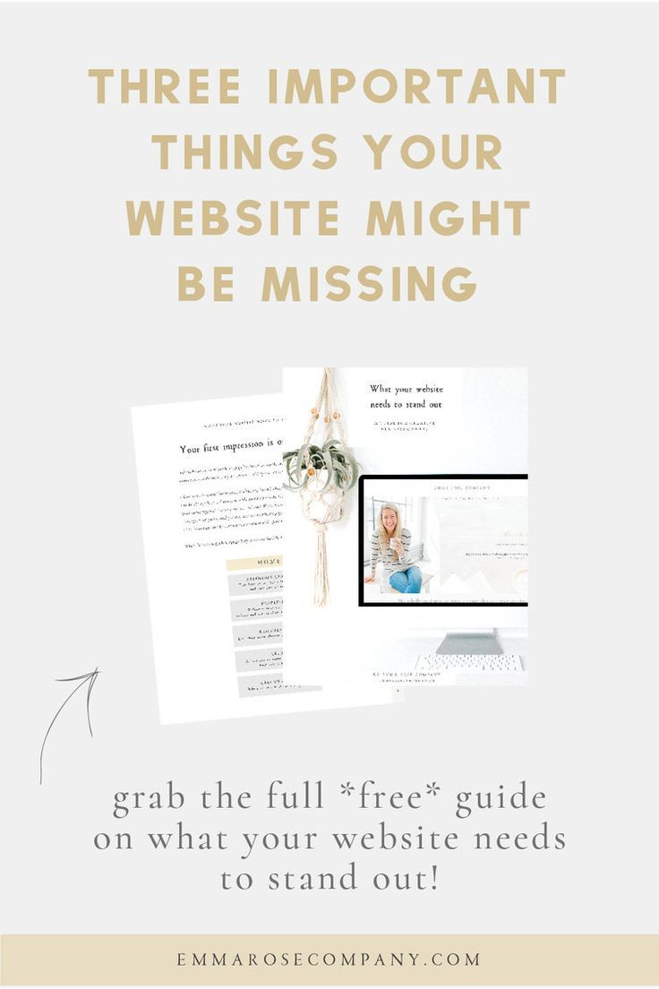 Three Important Things Your Website Might Be Missing Small Business Web Design Web Design Tips Web Design For Beginners