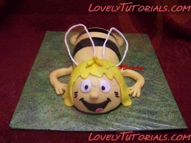 Название: Maya the Bee cake tutorial 14.jpg Просмотров: 0 Размер: 40.6 Кб