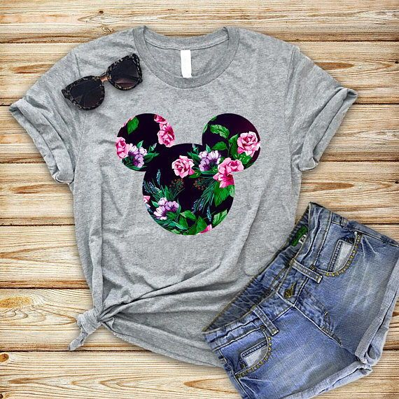 Rose Mickey Shirt